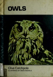 Cover of: Owls | Clive Catchpole