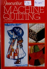 Cover of: Innovative machine quilting | Hettie Risinger