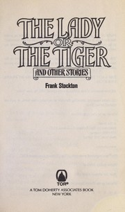 Cover of: The lady or the tiger and other stories