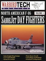 Cover of: North American F-86 SabreJet day fighters | Kris Hughes