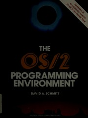 Cover of: The OS/2 Programming Environment