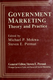 Cover of: Government marketing