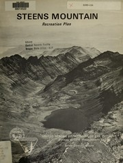 Cover of: Steens Mountain recreation plan