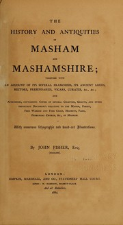 Cover of: The history and antiquities of Masham and Mashamshire