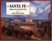Cover of: Santa Fe: history of an ancient city