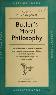 Butlers moral philosophy