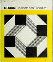 Cover of: Design: elements and principles | Dorothea C. Malcolm