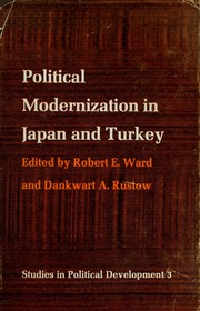 Cover of: Political modernization in Japan and Turkey | Conference on Political Modernization in Japan and Turkey Gould House 1962.