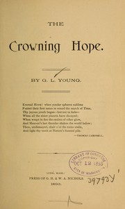 Cover of: The crowning hope