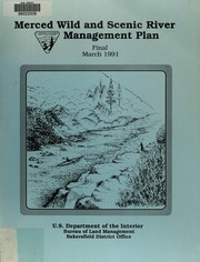 Cover of: Merced Wild and Scenic River management plan