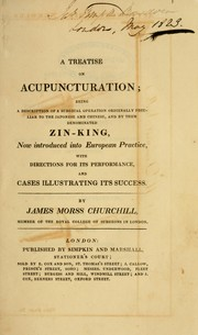 Cover of: A treatise on acupuncturation | James Morss Churchill
