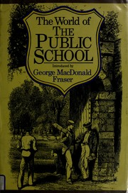 Cover of: The World of the public school