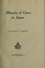 Cover of: Miracles of grace in Japan