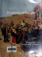 Cover of: Frontiers of Europe: Russia of the Czars, Portugal of the Navigators (Imperial Visions Series: The Rise and Fall of Empires)