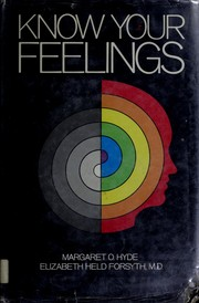 Cover of: Know your feelings