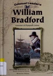 Cover of: William Bradford, governor of Plymouth Colony