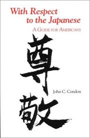 With respect to the Japanese by John C. Condon