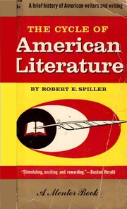 Cover of: The cycle of American literature | Robert E. Spiller