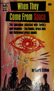 Cover of: When they come from space