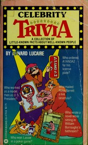 Cover of: Celebrity Trivia |