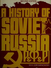 Cover of: A history of Soviet Russia