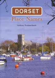 Cover of: Dorset Place Names by
