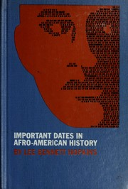 Cover of: Important dates in Afro-American history