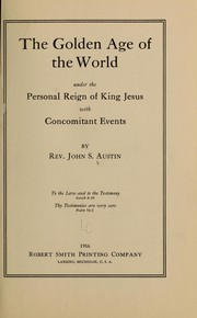 Cover of: The golden age of the world...