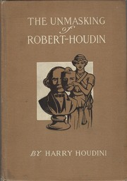 Cover of: The Unmasking Of Robert Houdin