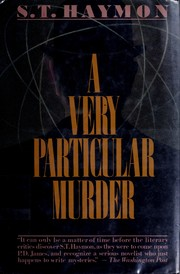 Cover of: A very particular murder