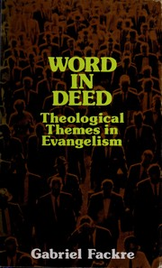 Cover of: Word in deed