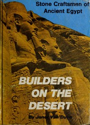 Cover of: Builders on the desert | Janet H. (Dunning) Van Duyn