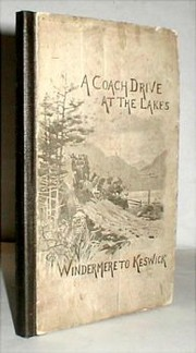 Cover of: A coach-drive at the Lakes |