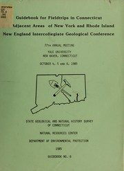 Cover of: New England Intercollegiate Geological Conference