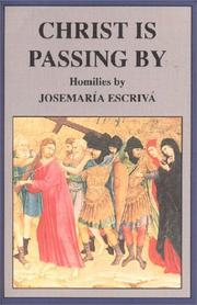 Cover of: Christ Is Passing by