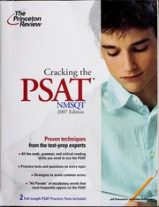 Cover of: Cracking the PSAT/NMSQT | Jeff Rubenstein