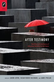 Cover of: After testimony