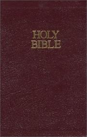 Cover of: Holy Bible, Revised Standard Version | None