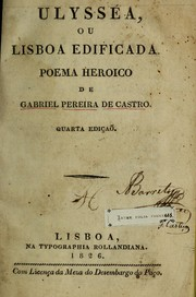 Cover of: Ulysséa