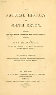 Cover of: The natural history of South Devon