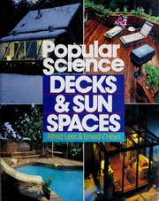 Cover of: Decks & sun spaces | Alfred W. Lees