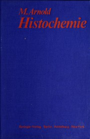 Cover of: Histochemie