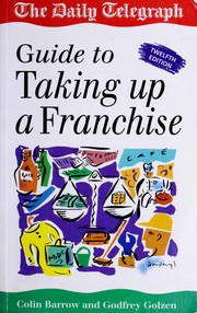 Cover of: Taking Up a Franchise | Colin Barrow