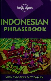 Cover of: Indonesian phrasebook | Patrick Witton