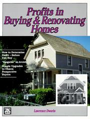 Cover of: Profits in buying & renovating homes