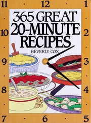 Cover of: 365 great 20-minute recipes