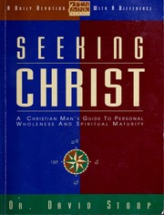 Cover of: Seeking Christ | David A. Stoop