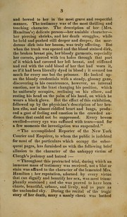 Cover of: Report of the trial of Joel Clough on an indictment for the murder of Mrs. Mary W. Hamilton