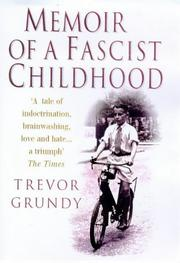Cover of: Memoir of a fascist childhood