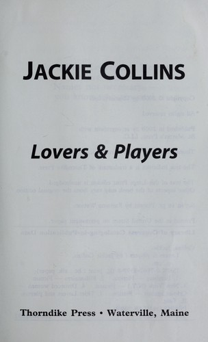 Lovers & players by by Jackie Collins.